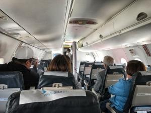Die Kabine der Bombardier Dash Q200
