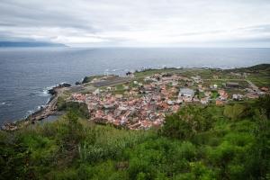 Blick auf Vila Nova bzw. Vila do Corvo